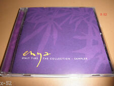 ENYA Only Time the COLLECTION hits SAMPLER PROMO CD silent night CELTS orinoco
