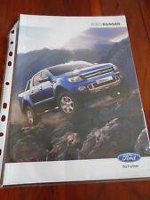 Ford Ranger range brochure Apr 2012