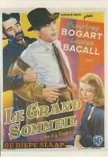 """CPM -Carte postale Affiche de film"""" LE GRAND SOMMEIL """" N°A-C 422"""