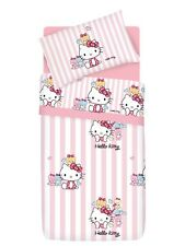 Set Copripiumino Lenzuola Hello Kitty Little Friends Rosa 1 Piazza Gabel Sanrio