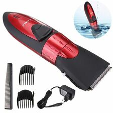 New Washable Electric Rechargeable Men's Shaver Beard Hair Clipper Trimmer Set