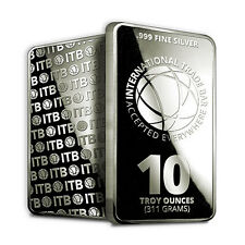 10 oz Silver International Trade Bar (New, Sealed)