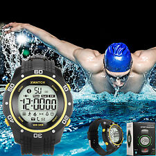 IP68 Swim Waterproof Smart Bluetooth Bracelet Watch Pedometer  for IOS Android
