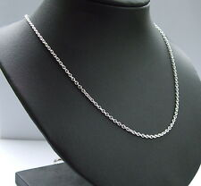 925 Sterling Silver Trace Chain 24 Inches long necklet