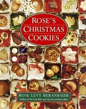 Rose's Christmas Cookies, Beranbaum, Rose Levy, Acceptable Book