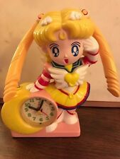 Rare Eternal Sailor Moon Talking Musical Alarm Clock Collectable