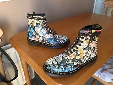 Vintage Dr Martens 1460 Meadow Flowers floral boots UK 6 EU 39 kawaii England