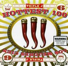 TRIPLE J HOTTEST 100 Vol 6 2CD Grinspoon Powderfinger Cake U2 Hole Korn ++