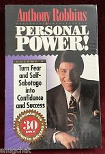 Anthony Robbins Personal Power! #8 Turn Fear...into Confidence and Success NIP