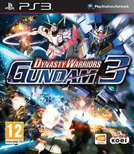 Dynasty Warriors: Gundam 3  playstation 3 PS3   NUOVO !!!