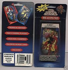 Warlock 1996 Marvel Access Tags Unopened Pack Looks Like Backstage Passes