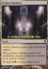 2x Orzhov Basilica (Orzhov-Basilika) Commander 2013 Magic