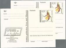 Österreich aus 2002 ** postfrisch P 555+556 - Frauenschuh! Gefährdete Pflanzen!