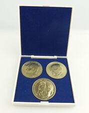 #e3243 3 Medaillen MFS Dr. Iwanowitsch Abel, Dr. Sorge, Harro Schulze-Boysen