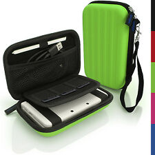 Green EVA Hard Carry Case Cover for New Nintendo 3DS 2015 Sleeve Bag Pouch