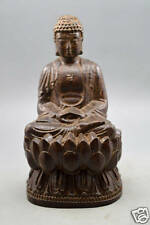 Chinese agalloch eaglewood wood antique hand-carved bodhisattva statue Buddha