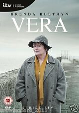 VERA COMPLETE ITV SERIES 5 DVD All Episodes Fifth Season New Sealed UK R2 Rel.