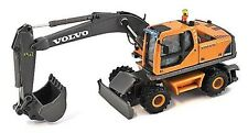 Volvo EW180B - Wheeled Excavator - 1/87th Scale Yellow/Grey - New Boxed