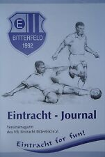 Programm 1997/98 Eintracht Bitterfeld - LSG 67 Ostrau
