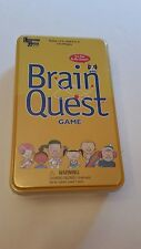 Brain Quest Game Box by University Games in Tin  Ages 6 -12  Fun to be Smart NEW