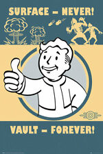 FALLOUT4 Poster - VAULT FOREVER! - New FALLOUT 4 gaming poster FP4149