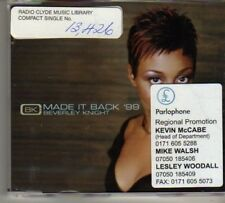 (BO320) Beverley Knight, Made It Back '99 - 1999 DJ CD