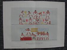 Gold Golgewinnung Bearbeitung Alten Ägypten FARBDRUCK von 1903 Antike