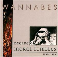 Wannabes Decade of Moral Fumbles 1990-1999 (CD, Music, Rock, Indie, 2000, New)