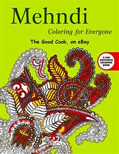 SALE Mehndi Adult Coloring Book Anti Stress Art Therapy for Busy People New