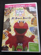 Sesame Street: Elmos World - All About Animals (DVD, 2014)