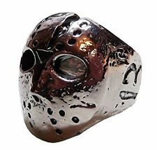 Friday the 13th Movie JASON MASK Stainless Steel RING - Size 10