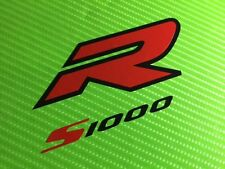 S1000R logo decals Sticker for Race, Track Bike or Toolbox ref #144