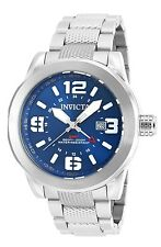 Invicta Men's 90275 Coalition Forces Quartz 3 Hand Blue Dial Watch