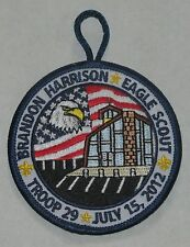 Mobile Area Council (AL) 2012 Eagle Scout Brandon Harrison Pocket Patch  BSA
