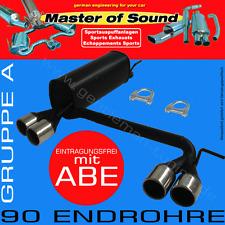 MASTER OF SOUND DUPLEX AUSPUFF VW POLO 6N/6N2