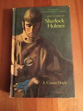 Adventures of Sherlock Holmes 1965 Golden Press Classic, A Conan Doyle - HC