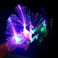 2Pcs FINGER LIGHT UP RING LASER LED DANCE PARTY SUPPLIES FAVORS GLOW BEAMS