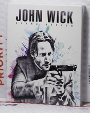 NEW JOHN WICK BLU-RAY FULL SLIP STEELBOOK! ANGEL EDITION! FAC#15! RARE SEALED