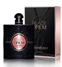 Opium Black By Yves Saint Laurent Women 3.0 OZ 90 ML Eau De Parfum Spray Sealed