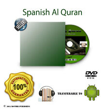 Spanish Koran Alquran Al quran Audio Book No citation Pure Translation Mp3 DVD