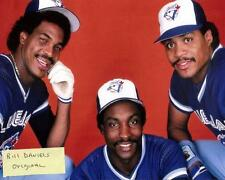 GEORGE BELL- LLOYD MOSEBY - JESSE BARFIELD Toronto Blue Jays  8 X 10 PHOTO 1