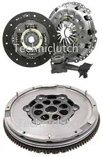 LUK DUAL MASS FLYWHEEL DMF AND COMPLETE CLUTCH KIT WITH CSC FORD TRANSIT 2.0 DI