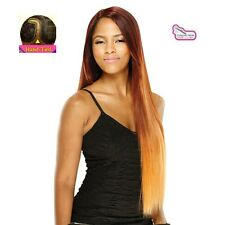 Equal Synthetic Invisible Lace Front L Part Wig Virgo
