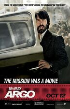 ARGO movie poster print : 11 x 17 inches BEN AFFLECK poster (style B)