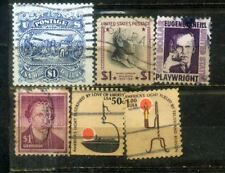 USA 6 High Value Stamps