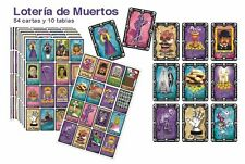 3 ITEMS!   LOTERIA AND MEMORAMA GAMES !    DAY OF THE DEAD THEME !