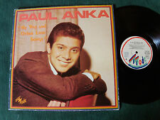 "PAUL ANKA ""My way & other love songs"" LP 33T 1979 French pressing MODE MD 9020"