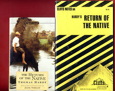 The Return of the Native  by Thomas Hardy & Cliff Notes study guide - Free Ship!