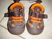 Healthtex Baby Shoes Canvas Camo Camouflage Size 3 Infant girl boy sneakers
