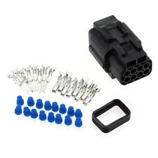 Sealed Truck 1 Kits 8 Pin Way Waterproof Wire Connector Plug Set Car